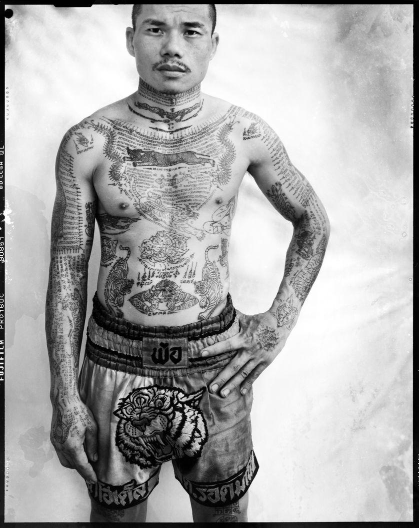 Yantra : Muay Thai boxer, Bangkok