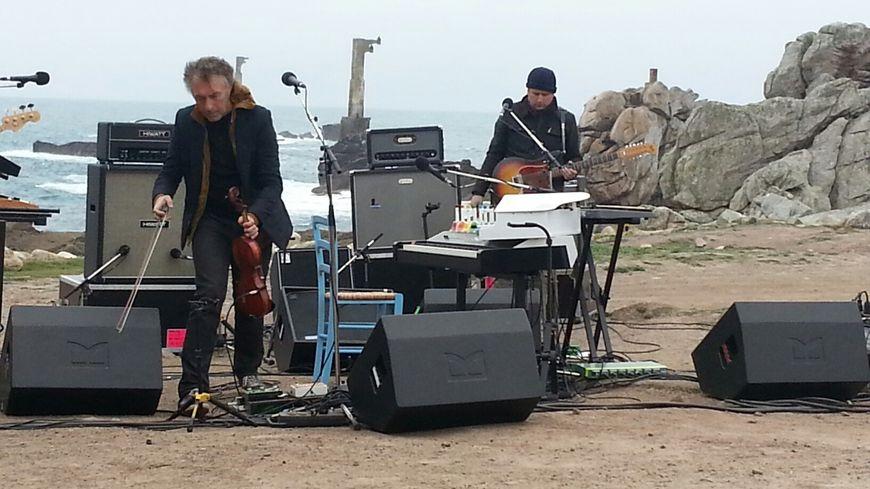 Yann Tiersen a donné un concert sur l'île d'Ouessant