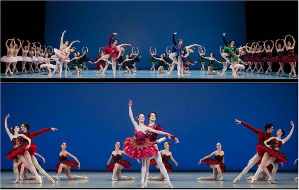 Le Palais de Cristal, de George Balanchine, avec de nouveaux costumes dessinés par Christian Lacroix. ©  Agathe Poupeney