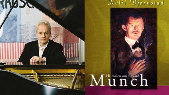 Photo - montage livre Ketil Bjornstad - Edvard Munch