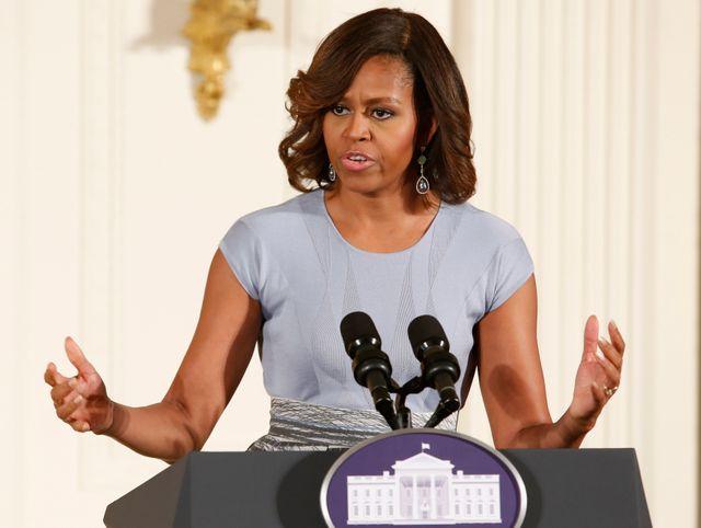 """""""Un acte inqualifiable a été commis"""" pour Michelle Obama"""