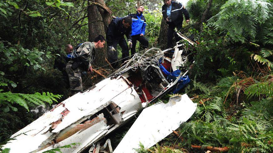 La carcasse du planeur était à quelques mètres de son pilote - illustration