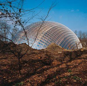 Centre wallon de sylviculture Philippe Samyn, Marche-en-Famenne, Belgique, 1995 - Maître d'ouvrage : ministère de l'Environnemen