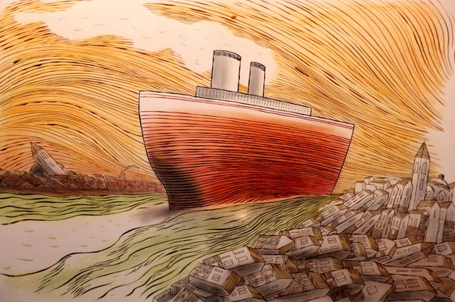 Les immenses paquebots qui détruisent Venise