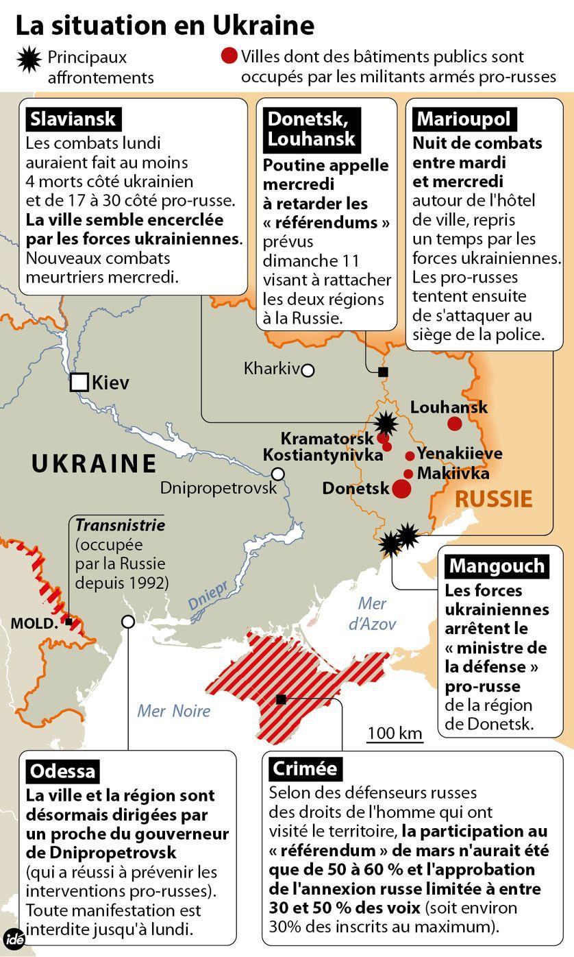 Ukraine : Poutine fait un pas en arrière