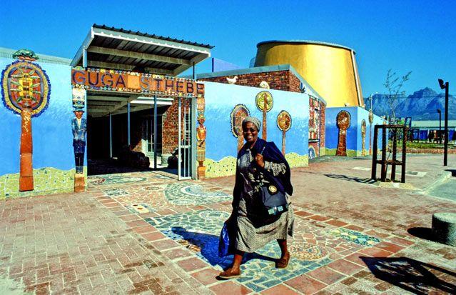 Guga S'Thebe, Centre d'art, de culture et d'histoire Carin Smuts, Langa, Le Cap, Afrique du Sud, 1999 : Maîtres d'ouvrage :