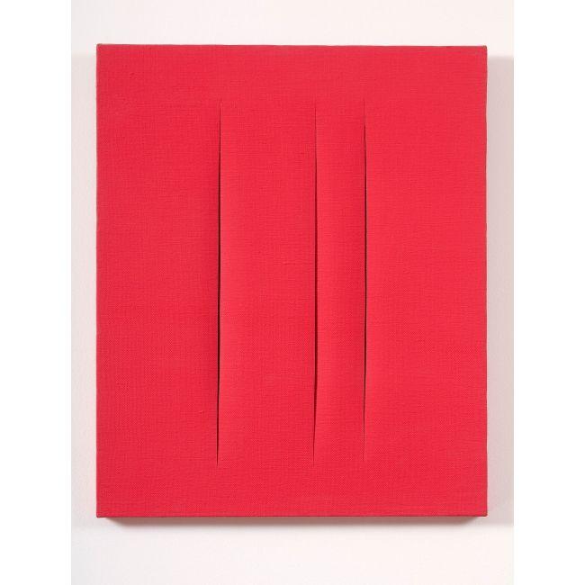 Lucio Fontana, Concetto spaziale, Attese, (Concept spatial, Attentes), 1966