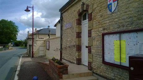 La mairie de Bretteville-le-Rabet.