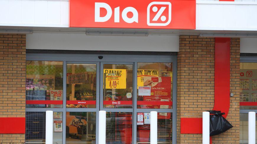 Un magasin hard-discount Dia