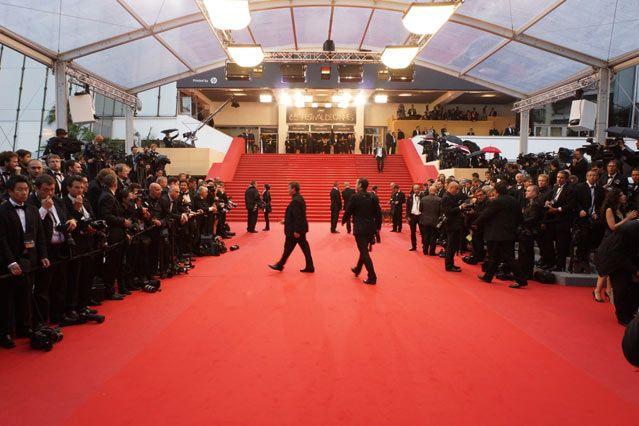 Le tapis rouge au Festival de Cannes