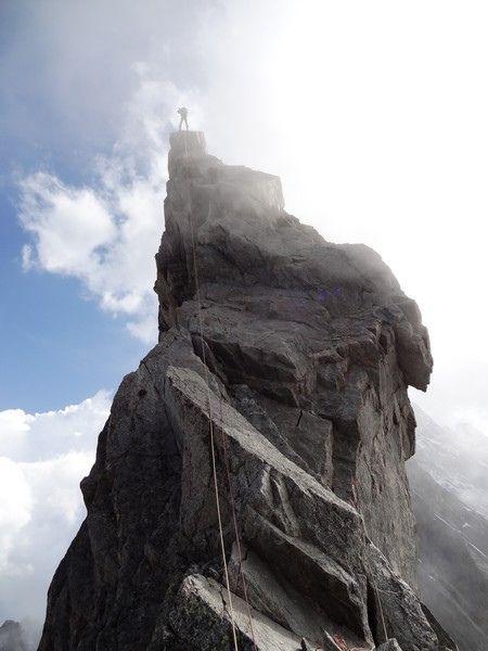 Une frontière bien déchiquetée dans le Massif du Mont-blanc