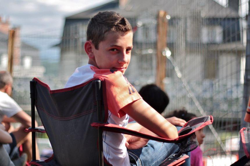 Arnaud au Grand Prix de Pau