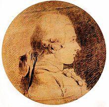 Portrait du jeune Marquis de Sade