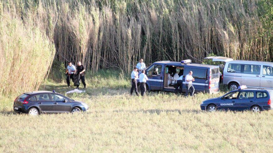 Les secours sont intervenus sur les berges de la rivière Lergue, à Ceyras