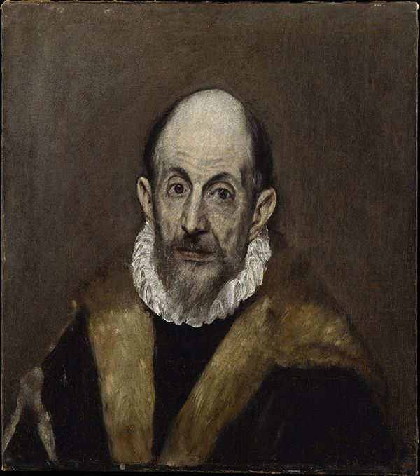 Le Greco - Autoportrait -  Photo : David Blázquez - Fondation El Greco 2014