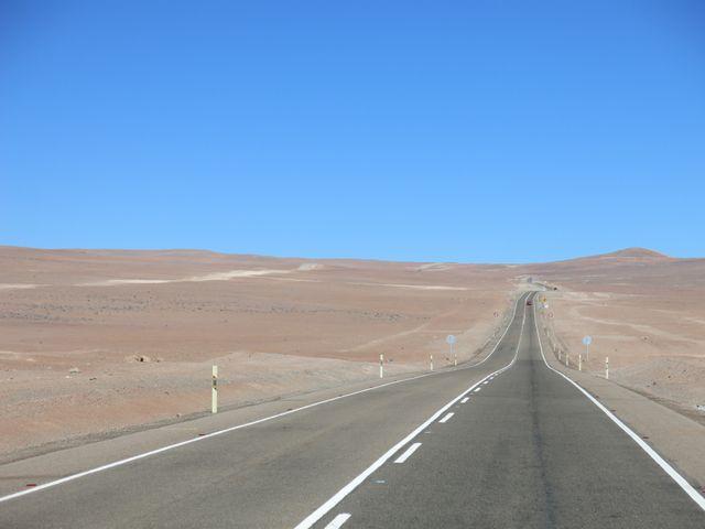 La route de l'Atacama