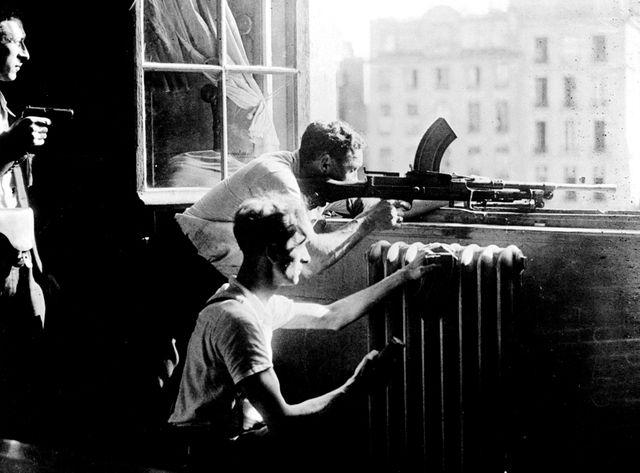 Août 1944 - résistance