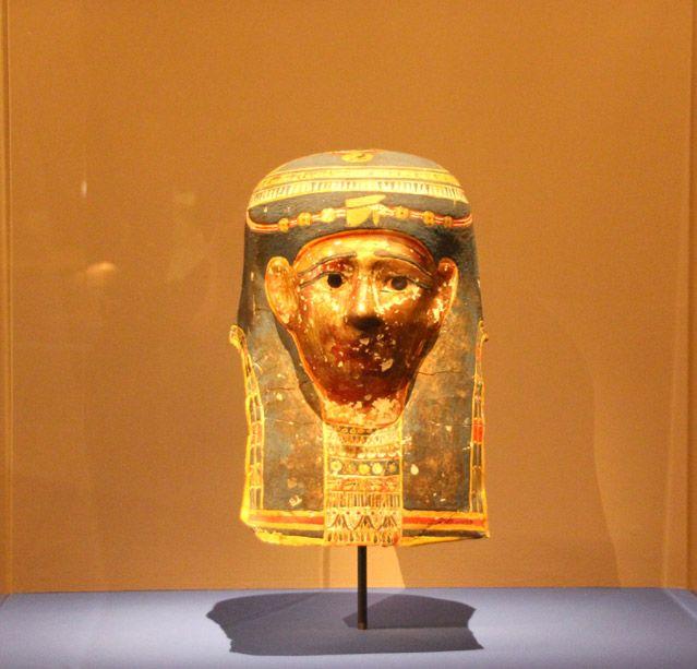 Cléopâtre dans l'exposition A l'origine du mythe