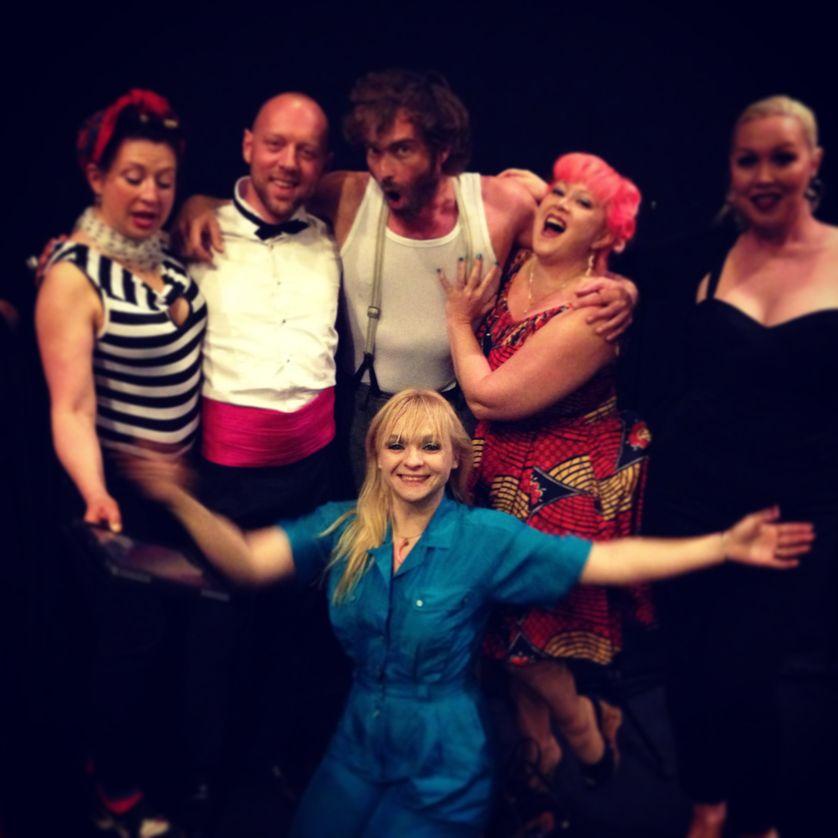Les filles du Cabaret New Burlesque