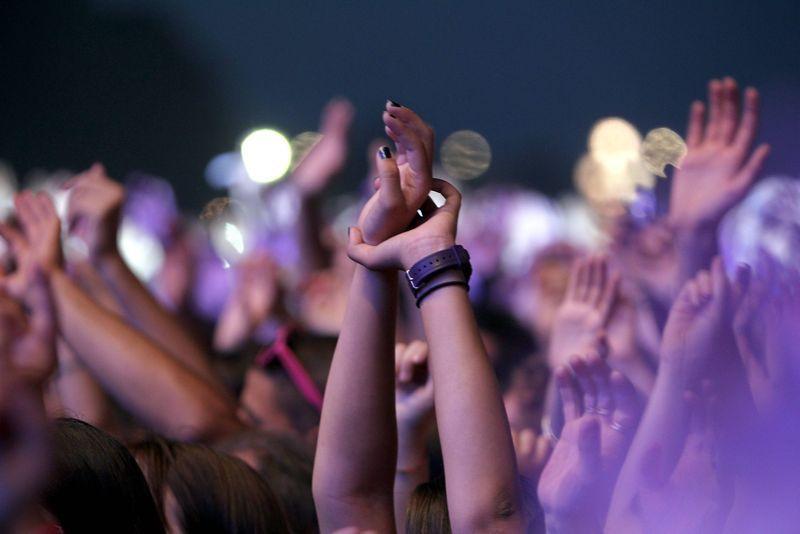 Ambiance de concert lors de la précédente édition