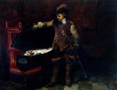 Cromwell et Charles Ier, de Paul Delaroche