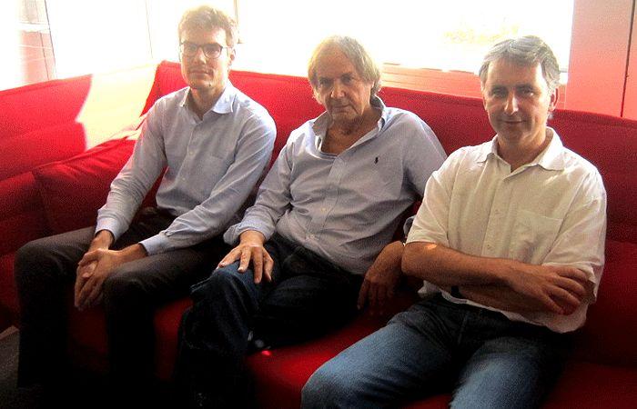 Robin Rivaton, Michel Bouvier et Vincent Drezet
