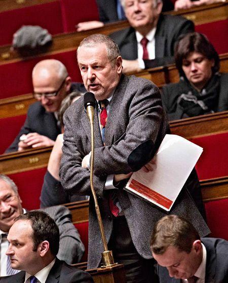 Dominique Raimbourg, à l'Assemblée nationale, le 26 mars 2013.