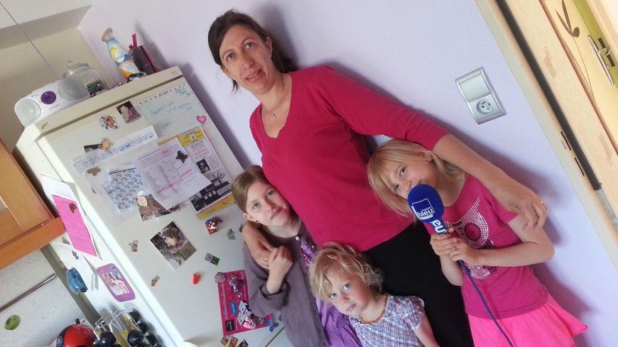 Amandine, Maylis, Madeline et Solène