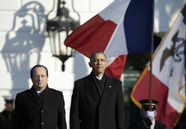 D Day Hollande Obama