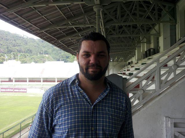 Eduardo Mourro, gérant du stade de Fluminense