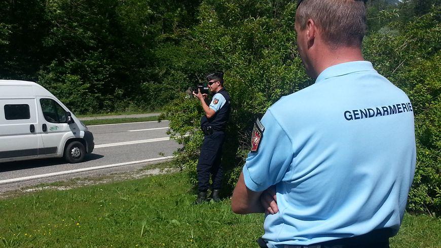 gendarmerie haute savoie controle radar