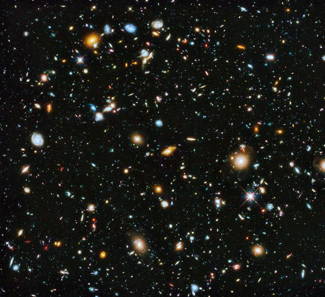 10 000 galaxies repérées par la NASA