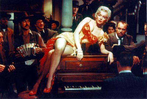 Marilyn Monroe dans RIVIERE SANS RETOUR (Otto Preminger, 1954)