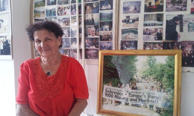 Kada Hotic, survivante de Srebrenica