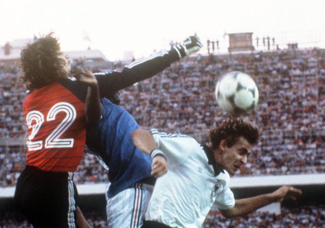 France-Allemagne 1982