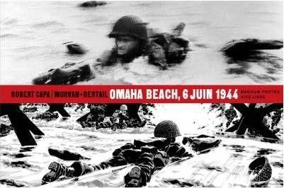"""Capa-Morvan-Bertail """"Omaha Beach 6 juin 1944"""""""