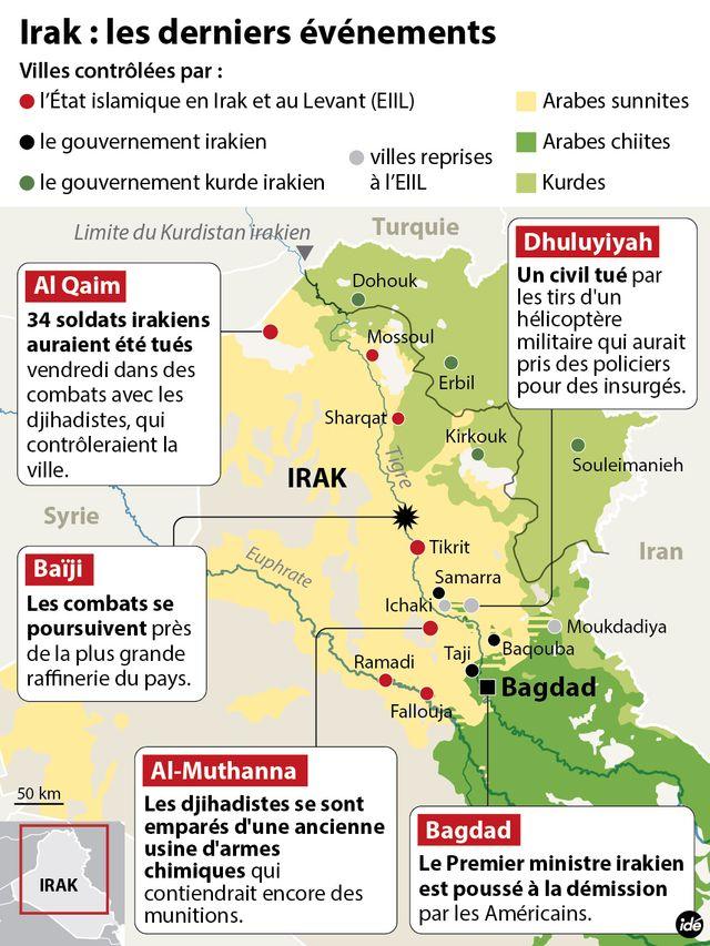 Irak : l'armée tente de résister