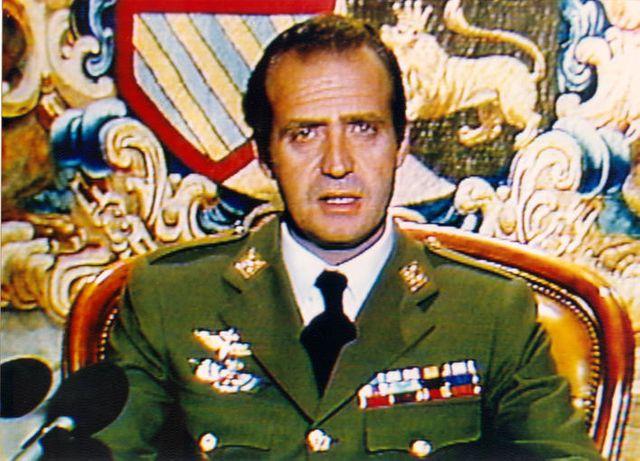 Intervention télévisée de Juan Carlos Ier, le 24 février 1981, vers une heure du matin, pour s'opposer au coup d'Etat