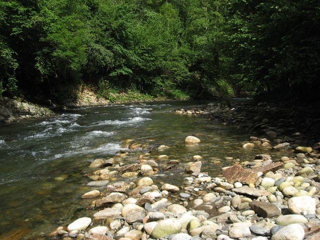 Rivière ariègeoise prés de Massat