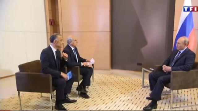Vladimir Poutine invité de TF1