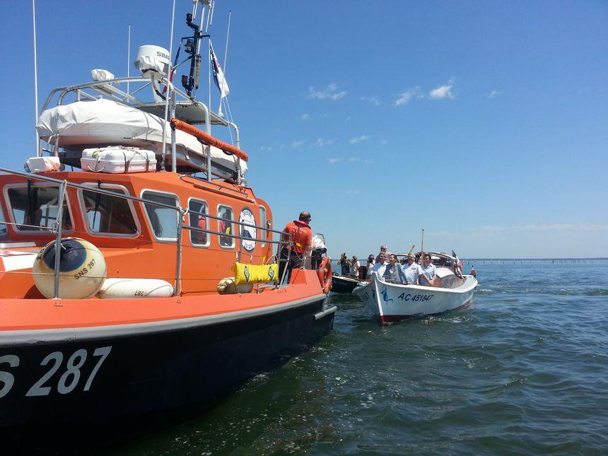 Ségolène Royal inaugure le Parc Naturel Marin du Bassin d'Arcachon