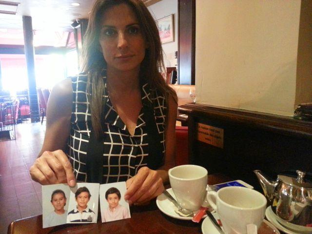 Maude Versini se bat pour retrouver ses trois enfants