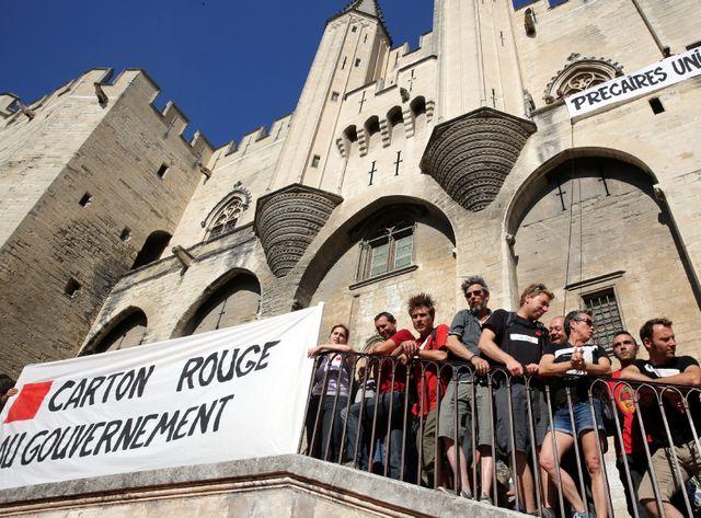 Les intermittents protestaient le 20 juin dernier