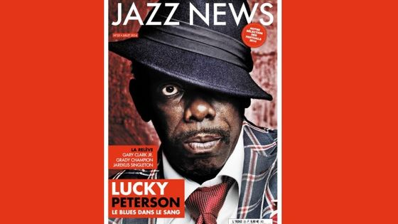 Photo - couverture Jazz News juillet 2014