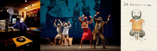 Pierre Henry © Léa Crespi - Via Katlehong Dance © Annely Boucher - La religieuse à la fraise