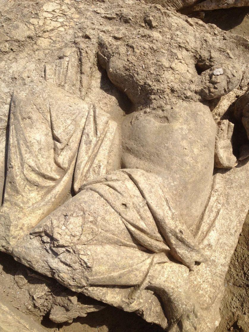 Vénus sur le site de fouille de Pont-Sainte-Maxence