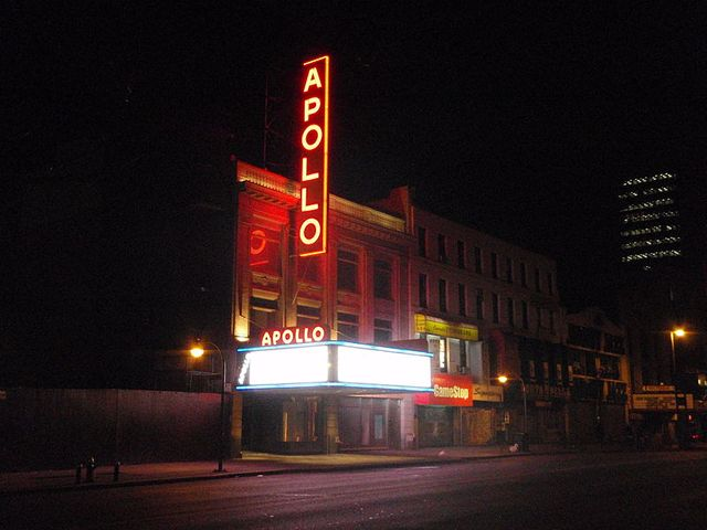 Le mythique Apollo Theater à Harlem