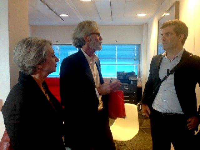 Nathalie Heinich, Jean-Marie Hordé et Mathieu Grégoire