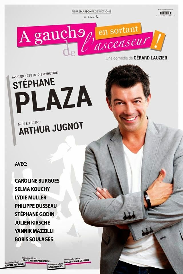 "Stephane Plaza, ""A gauche en sortant de l'ascenseur"""