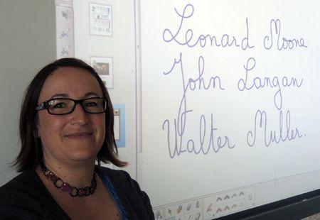 Pixel Débarquement - Delphine Jouenne, professeur d'anglais au collège Bon Sauveur